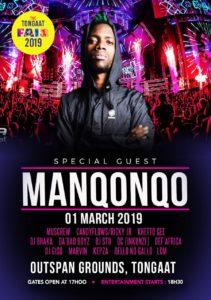 Cf 2019 poster - Friday night Kwaito