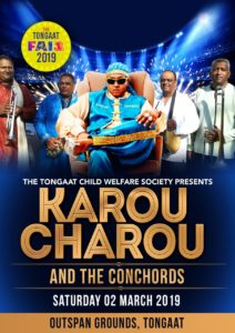 cf poster 2019 - Karou Charou & the Concords